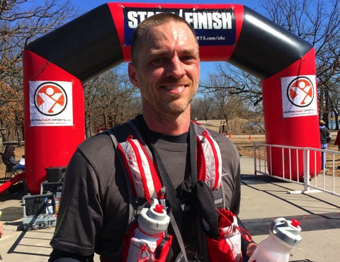 Post Oak Challenge 2015 25K Finish